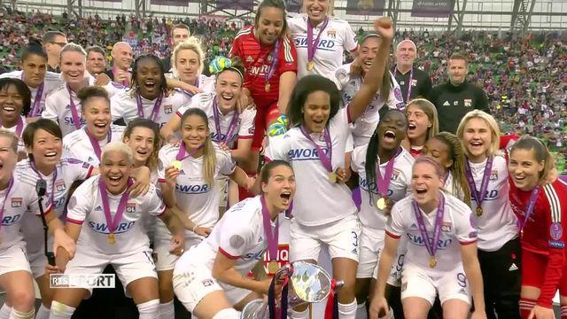 Football, Ligue des champions féminine, finale: Lyon - Barcelone (4-1): résumé de la rencontre [RTS]