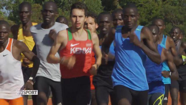 Athlétisme: Julien Wanders s'entraîne au Kenya avec les meilleurs [RTS]