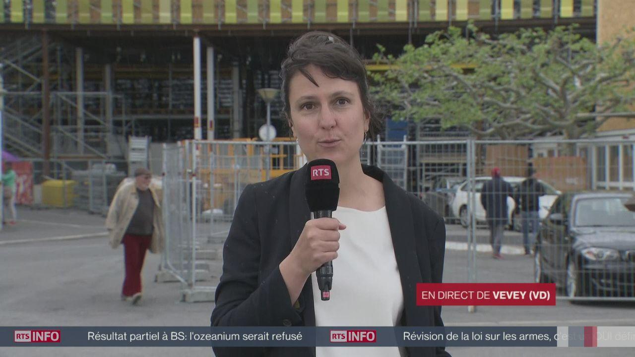Le projet de parking souterrain sous la place du Marché à Vevey est enterré [RTS]