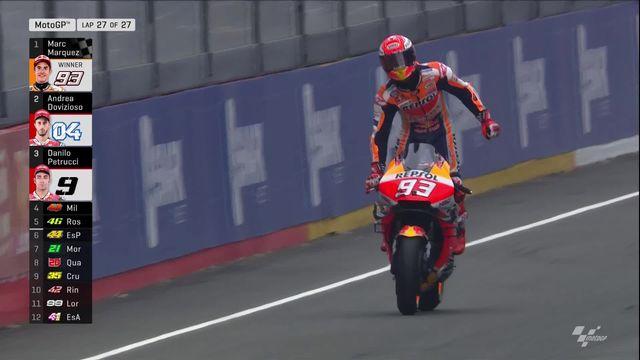 GP du Mans (#5), Moto GP: victoire de Marc Marquez (ESP) [RTS]
