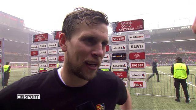 Finale, Bâle - Thoune (2-1): Fabian Frei à l'interview [RTS]