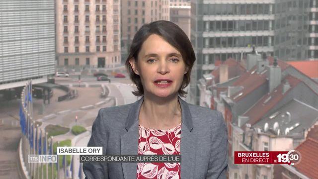 """Isabelle Ory """"Cette affaire confirme à quel point certaines formations sont proches de la Russie."""" [RTS]"""