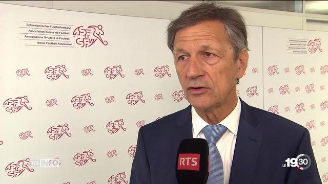 Le Vaudois Dominique Blanc est le nouveau président de l'Association suisse de football. [RTS]