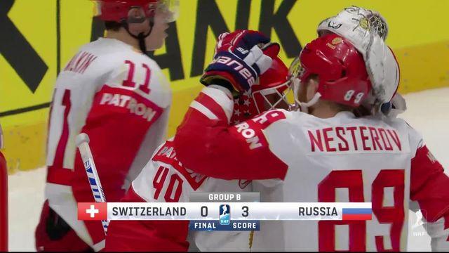 Hockey, Suisse - Russie (0-3): résumé du match [RTS]