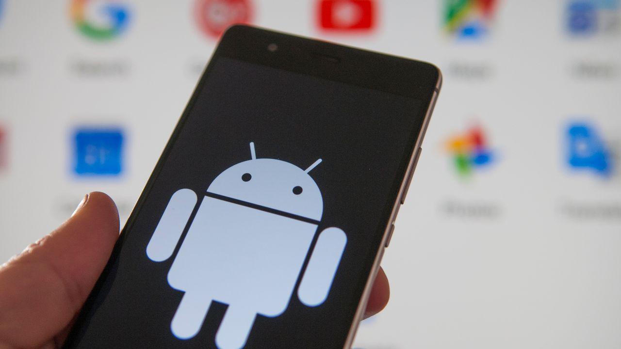 Les applications Google supportées par le système d'exploitation Android ne fonctionneront plus sur les téléphones Huawei. [JAAP ARRIENS  - NURPHOTO/AFP]