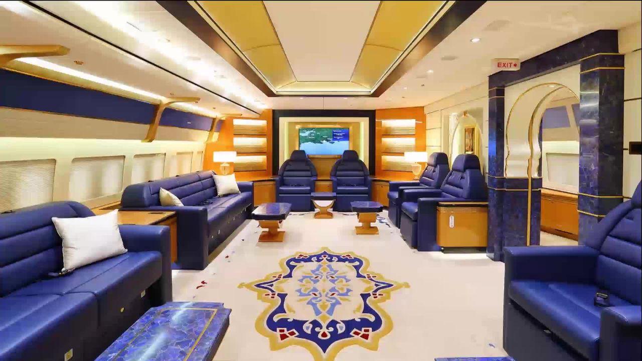 Cinq entreprises dans le monde transforment des Boeings 747 en jet privé pour une clientèle ultra riche [RTS]