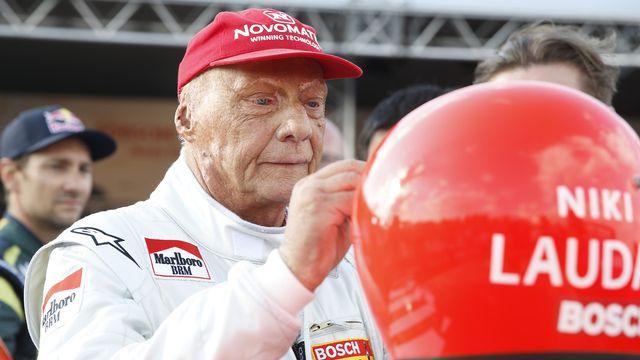 Niki Lauda était à la tête du conseil de surveillance de l'équipe Mercedes depuis 2012. [Erwin Scheriau - Keystone]