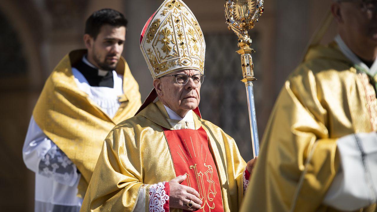 Vitus Huonder n'est plus l'évêque de Coire, le pape a accepté son retrait. [Gian Ehrenzeller - Keystone]