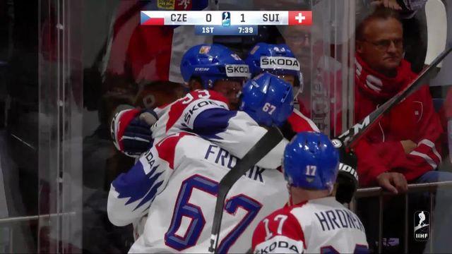 Groupe B, République tchèque – Suisse (5-4): l'équipe de Suisse s'incline et termine quatrième de son groupe [RTS]