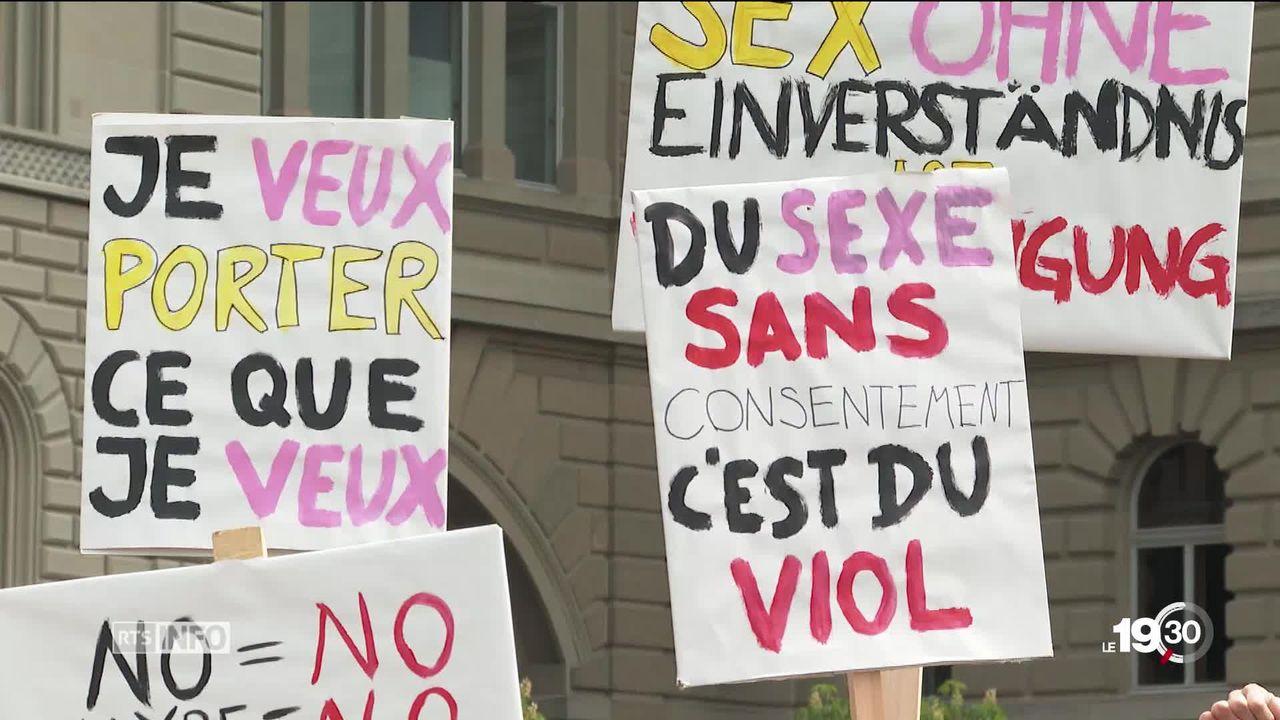 Selon une étude GFS Berne, une femme sur cinq a subi un rapport sexuel contre son gré. [RTS]