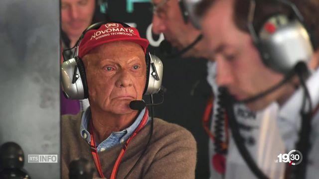 Niki Lauda, un miraculé et une légende de la Formule 1, est décédé. [RTS]