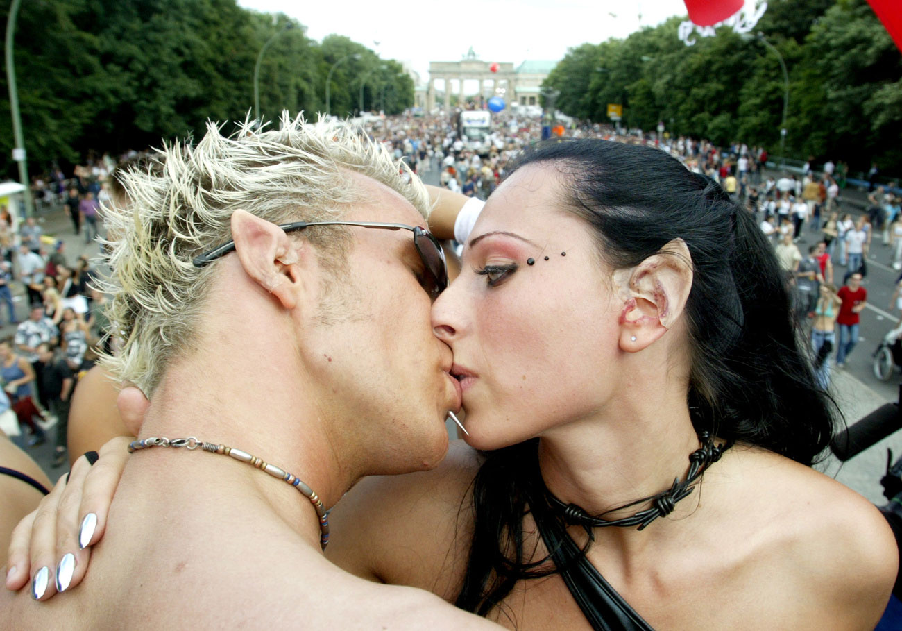 Love Parade à Berlin en 2002.