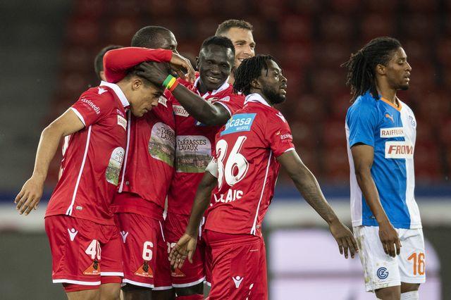 Le FC Sion peut souffler à une journée de la fin. [Ennio Leanza - Keystone]