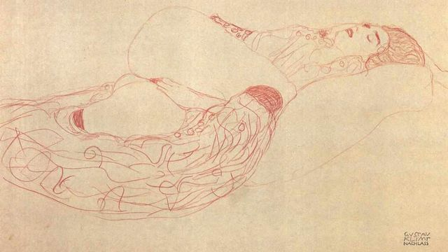 La masturbation a inspiré de nombreux artistes, comme Gustave Klimt (1862-1918). [DP]