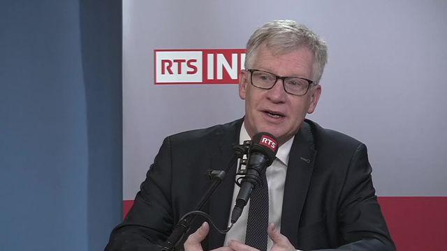 L'invité de La Matinale (vidéo) - Jean-Pierre Siggen, chef de l'instruction publique de Fribourg [RTS]
