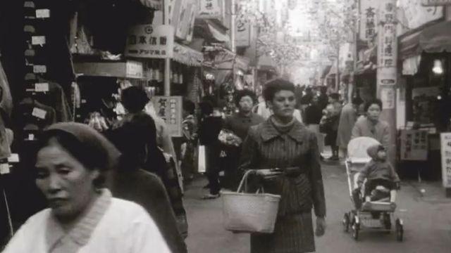 Rues de Tokyo en 1969. [RTS]
