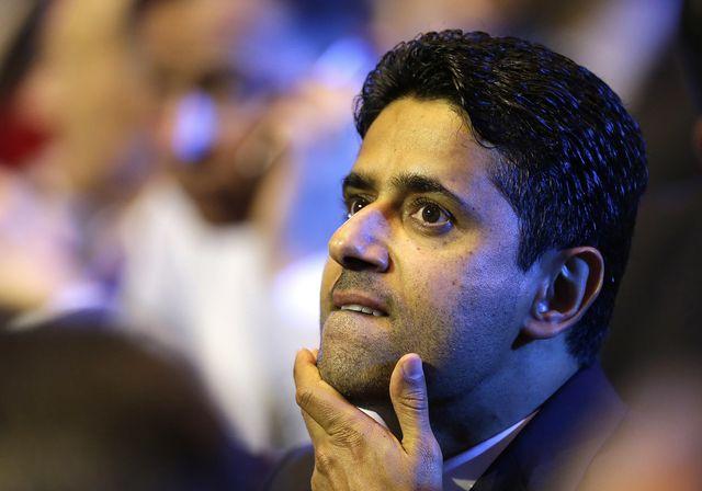 Nasser Al-Khelaifi a été mis en examen par courrier, selon des sources concordantes. [Claude Paris - Keystone]