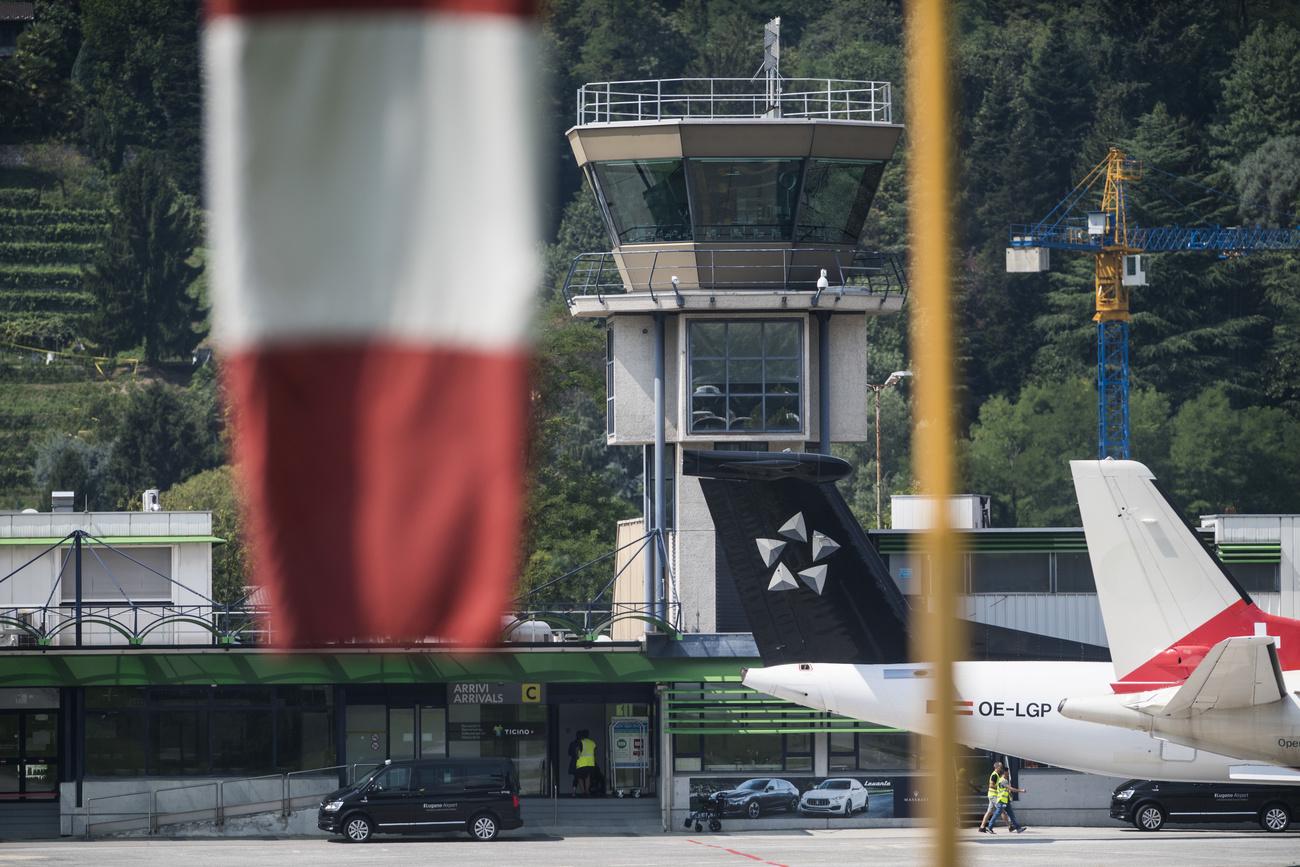 Le canton du Tessin vole au secours de l#039;aéroport de Lugano