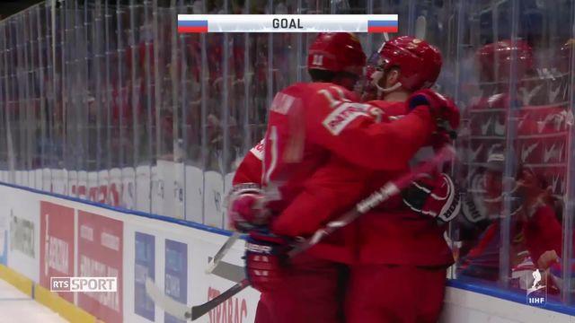 1-4, Russie – Etats-Unis (4-3): la Russie poursuit sa route et sort les Etats-Unis [RTS]