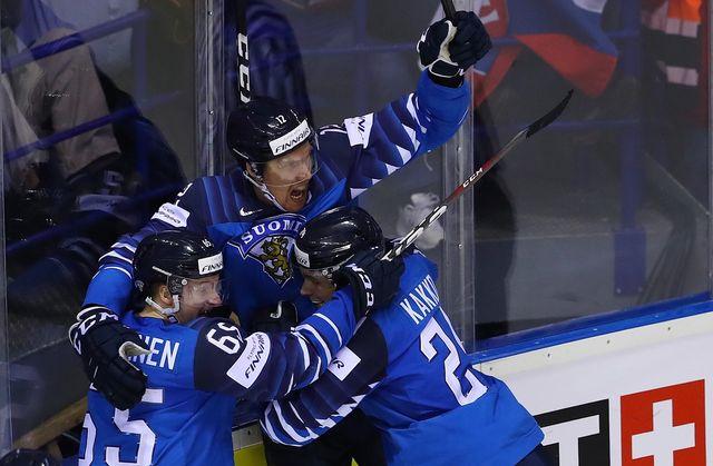 Les Finlandais sont revenus de nulle part contre la Suède. [Martin Divisek - Keystone]