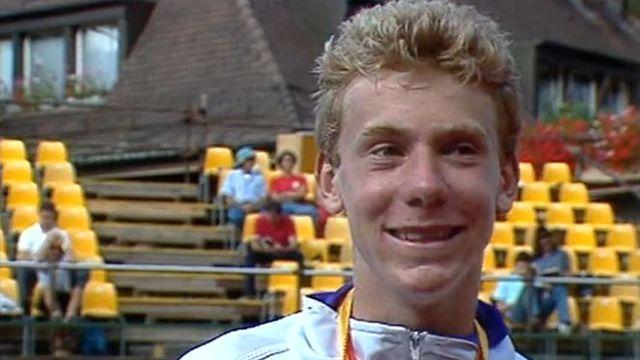 Marc Rosset remporte le Geneva Open 1989 [RTS]