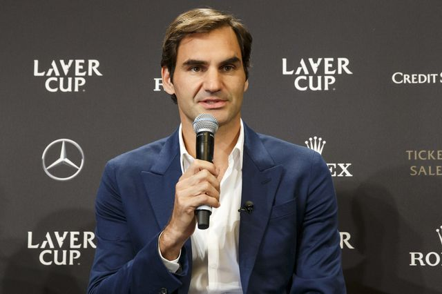 Roger Federer a créé la Laver Cup en 2017. [Salvatore Di Nolfi - Keystone]