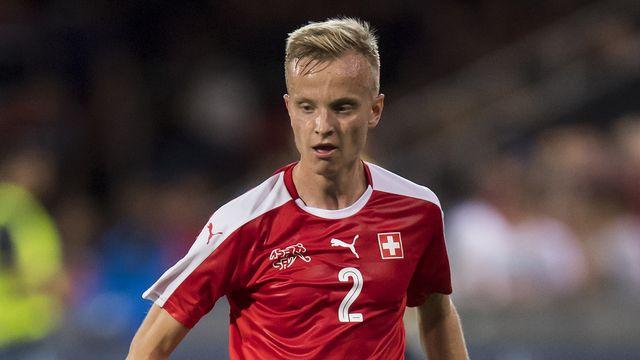 Florent Hadergjonaj a disputé un match sous le maillot de l'équipe de Suisse.