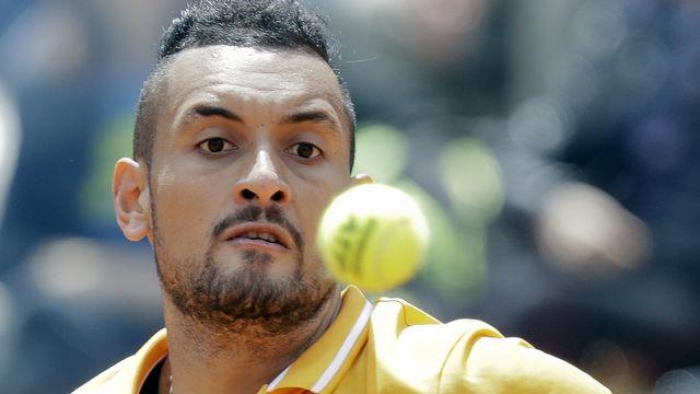 Nick Kyrgios avait vertement critiqué le tournoi de Roland-Garros il y a quelques jours. [Andrew Medichini - Keystone]
