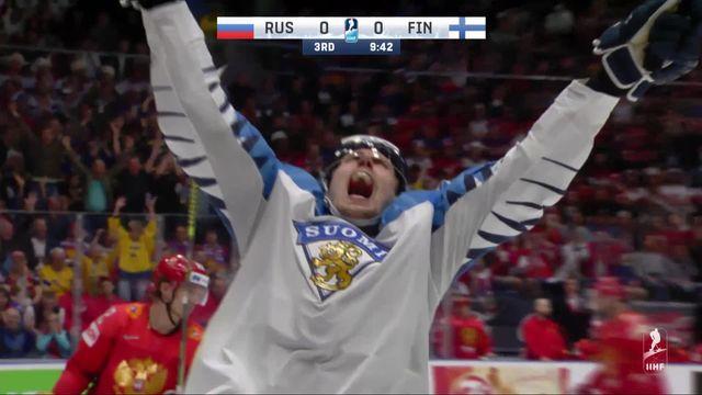 1-2, Russie – Finlande (0-1): la Finlande se qualifie pour la finale [RTS]