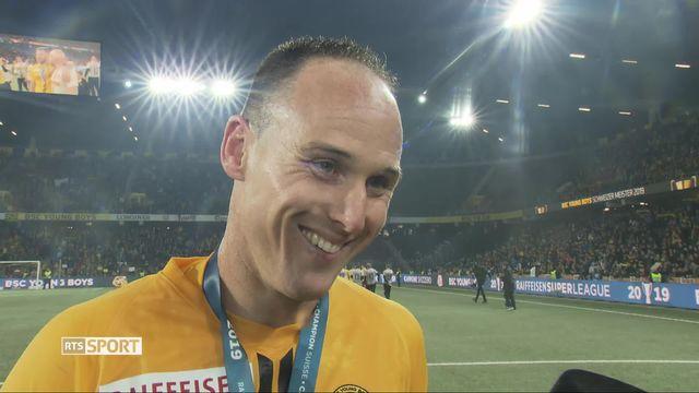 Super League, 36ème journée: Steve Von Bergen à l'interview pour son dernier match [RTS]