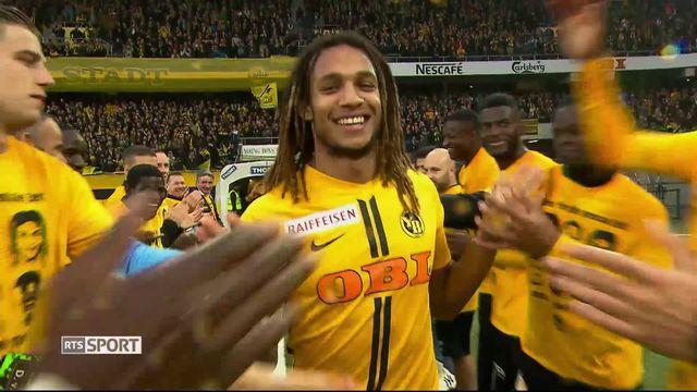 Super League, 36ème journée: Young Boys - Lucerne (4-0) [RTS]