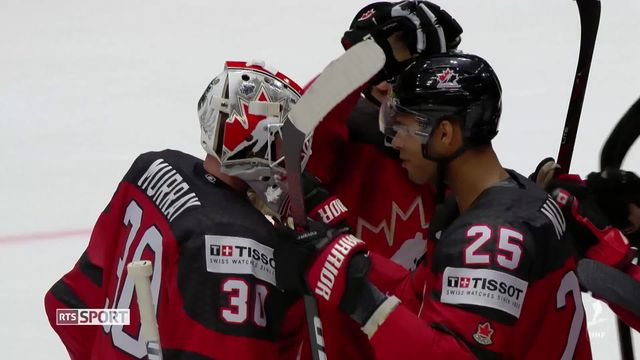 Hockey, Mondiaux: Le Canada rencontrera la Finlande en finale [RTS]