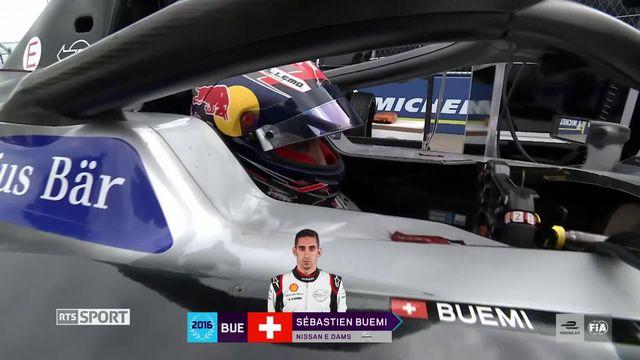 Formule E: un podium pour Sébastien Buemi [RTS]