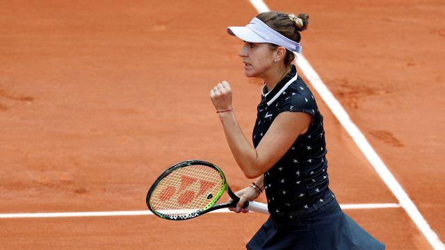 Belinda Bencic a bien lancé son tournoi. [Vincent Kessler - Reuters]