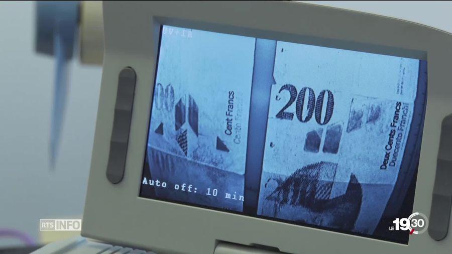 Des francs suisses étaient imprimés en sous-sol par un Farinet moderne