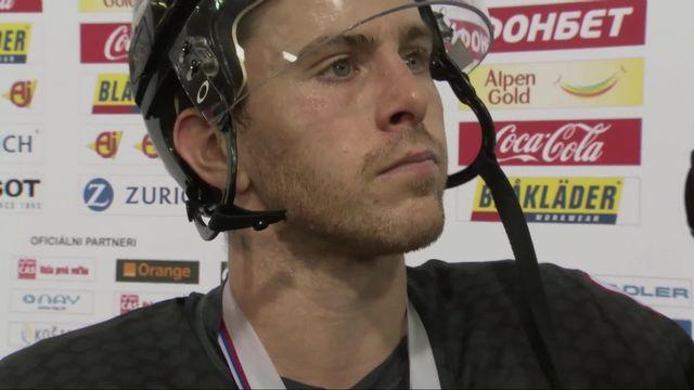 Finale, Canada – Finlande (1-3): Jonathan Marchessault (CAN) au micro de la RTS après sa défaite [RTS]