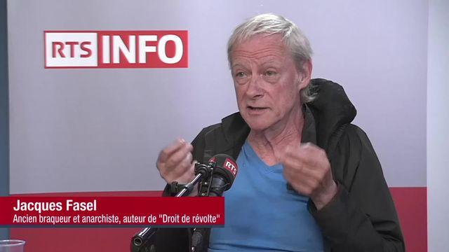 L'invité de La Matinale (vidéo) - Jacques Fasel, ancienne figure du grand banditisme [RTS]