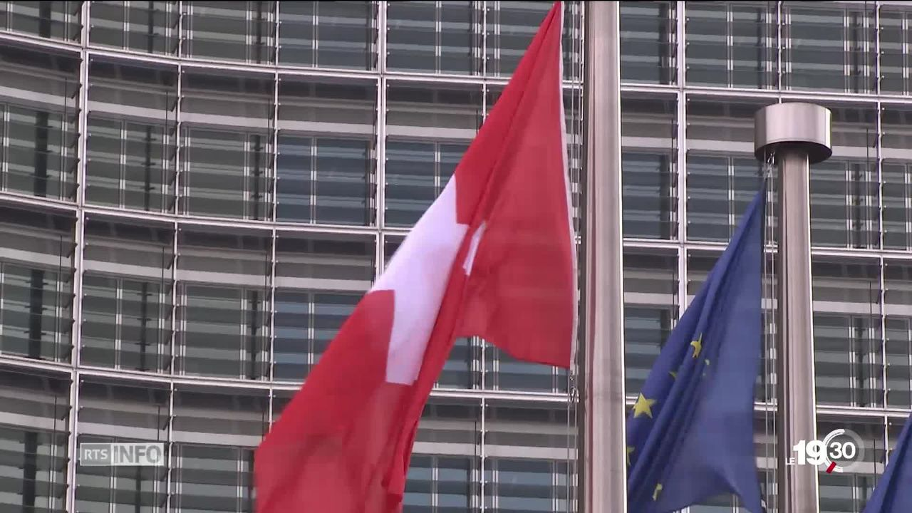 La classe politique se pose la question des conséquences pour la Suisse de ce nouveau pouvoir européen. [RTS]