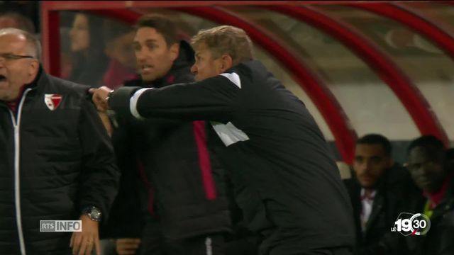 Le patron du FC Sion a réussi à débaucher Stéphane Henchoz à un moment crucial pour Neuchâtel Xamax. [RTS]