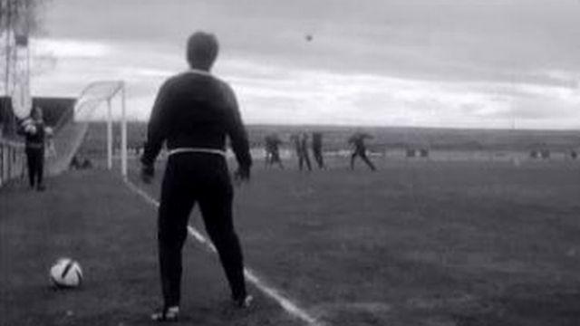 L'équipe nationale féminine de football en 1970. [RTS]