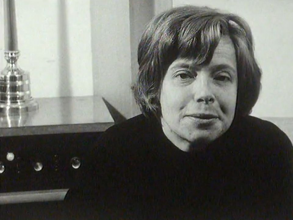 Catherine Charbon parle de son amie Barbara, 1969. [RTS]