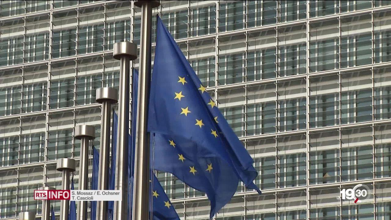 Les dirigeants de l'UE sont à Bruxelles pour s'accorder sur le successeur de Jean-Claude Junker. Portrait des prétendants. [RTS]
