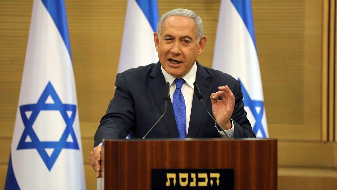 Benjamin Netanyahu peine à trouver une coalition. [EPA/Abir Sultan - Keystone]