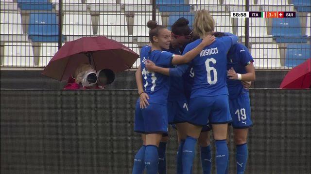 Amical, Italie - Suisse 3-1: les Suissesses s'inclinent face à l'Italie [RTS]