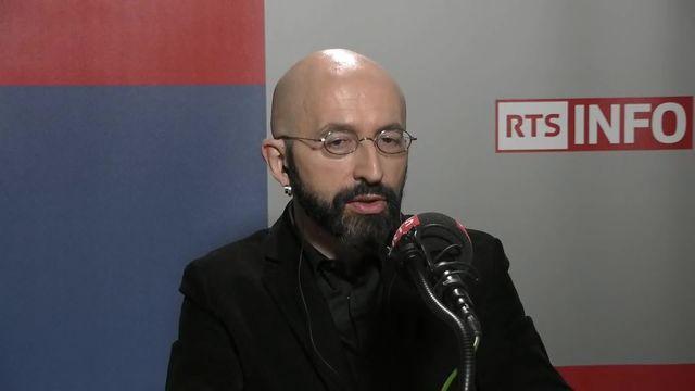 Le sociologue Antonio Casilli. [RTS]