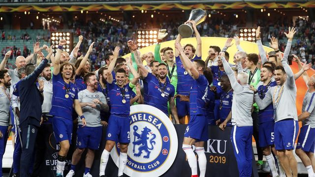 Chelsea remporte sa deuxième Europa League. [Maxim Shipenkov - Keystone]