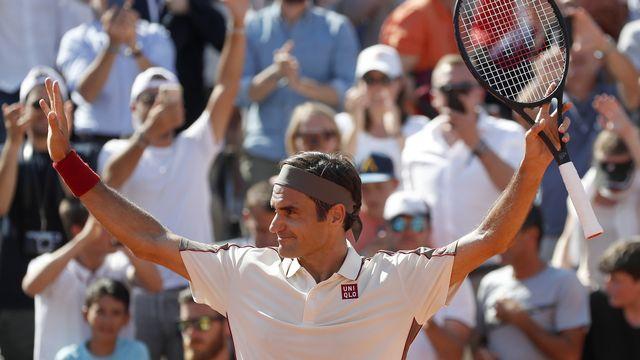 Federer jouera les 8es dimanche. [Pavel Golovkin - Keystone]