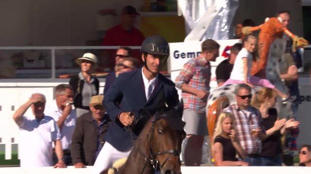 Grand Prix de Suisse: Steve Guerdat sacré pour la première fois à Saint-Gall [RTS]