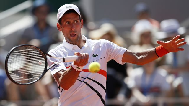 Aucun problème pour Djokovic au 3e tour de Roland-Garros. [Christophe Ena - AP Photo]