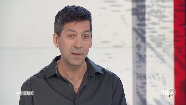 Satellites en orbite: les explications de Stéphane Paltani, astrophysicien, UNIGE [RTS]